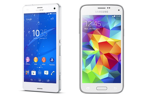 Sony Xperia™ Z3 Compact vs Samsung® Galaxy™ S5 Mini
