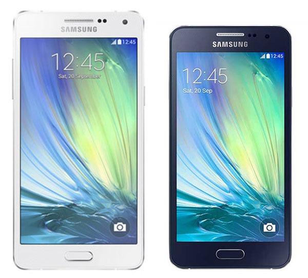 Comparativa Samsung Galaxy A5 vs Samsung Galaxy A3