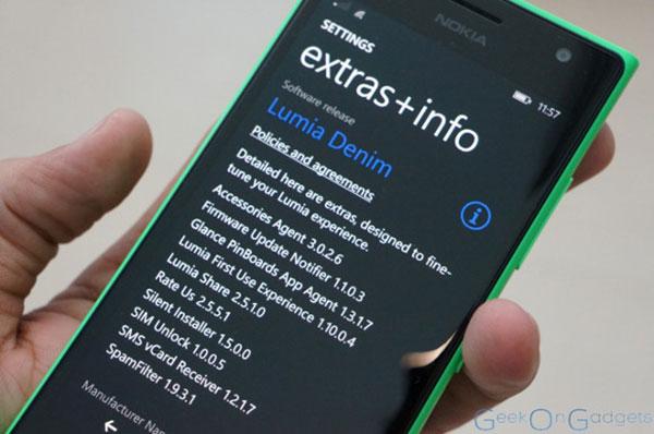 Lumia Denim permite descargar actualizaciones en la tarjeta microSD