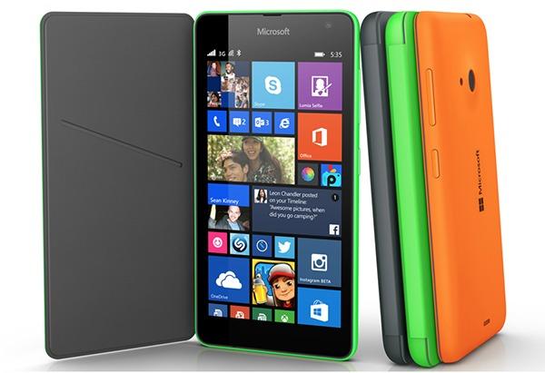 Microsoft reconoce los problemas con la pantalla del Lumia 535