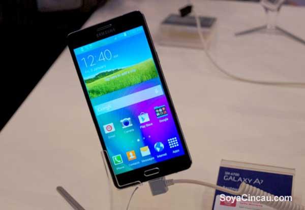 Samsung muestra el Galaxy A7, su teléfono más fino hasta la fecha