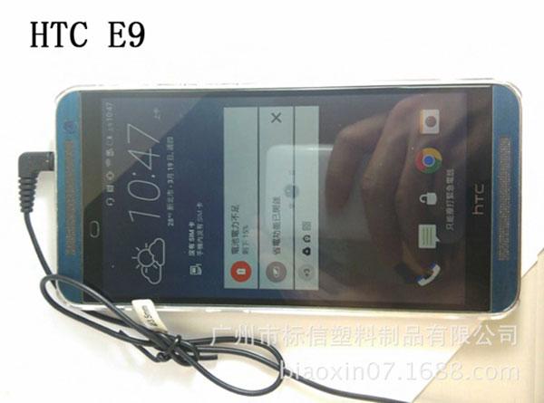El HTC One E9 posa para la cámara