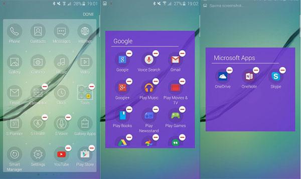 samsung Galaxy™ s6 apps preinstaladas