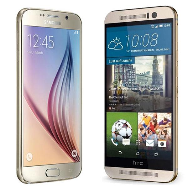 Comparativa Samsung Galaxy S6 vs HTC One M9