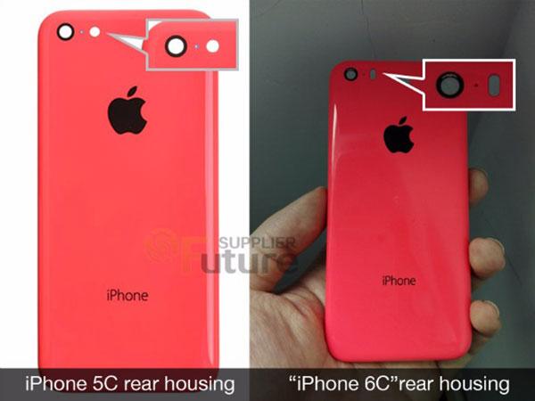Primeras imágenes del posible iPhone 6C