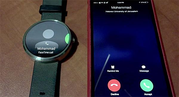 Consiguen hacer funcionar un reloj Android Wear con un iPhone