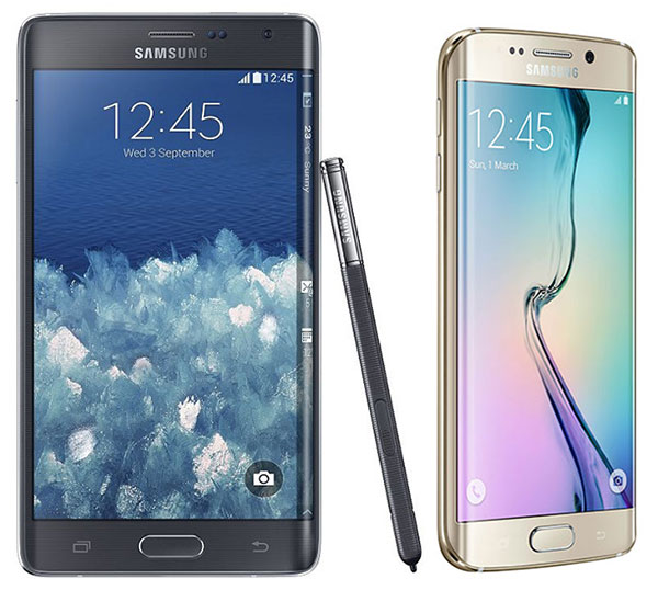 Comparativa Samsung Galaxy Note Edge vs Samsung Galaxy S6 Edge