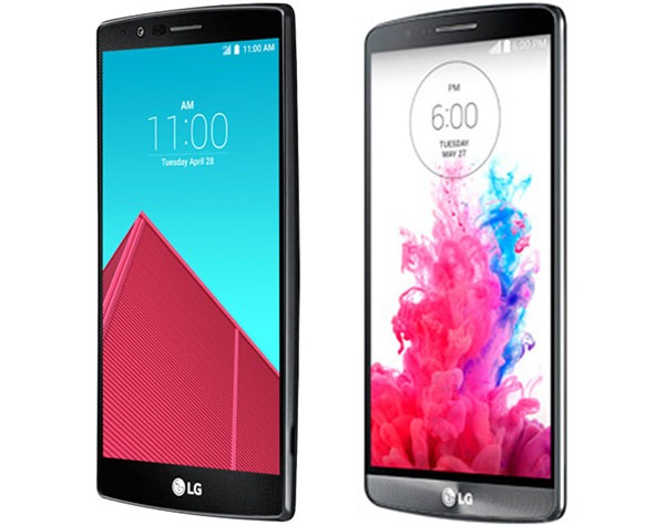 Comparativa LG G4 vs LG G3