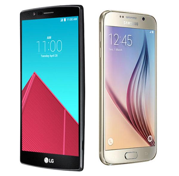 Comparativa LG G4 vs Samsung Galaxy S6