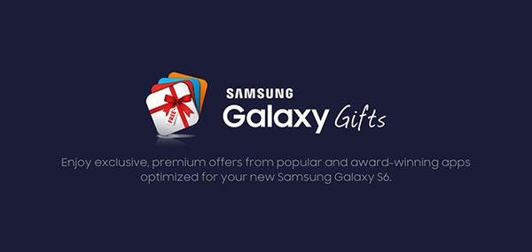 Samsung Galaxy™ S6 gifts