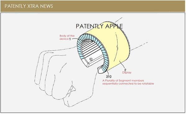 Samsung smartphone(teléfono inteligente) flexible