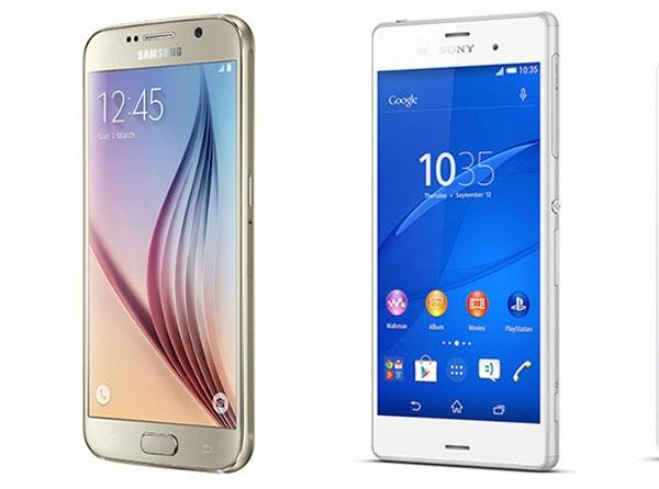 Comparativa Samsung Galaxy S6 vs Sony Xperia Z3