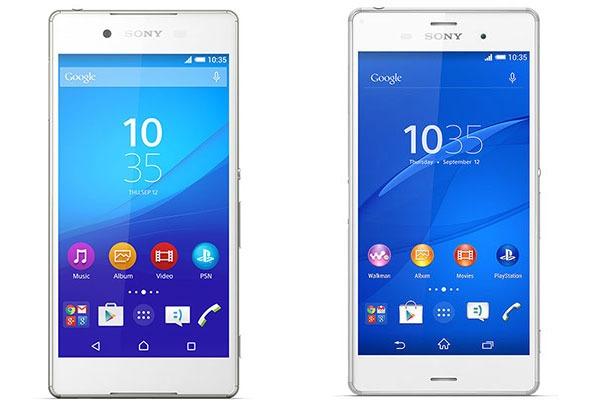 Comparativa Sony Xperia Z4 vs Sony Xperia Z3