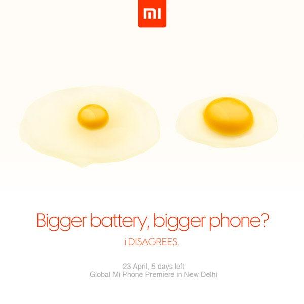 Xiaomi 23 abril