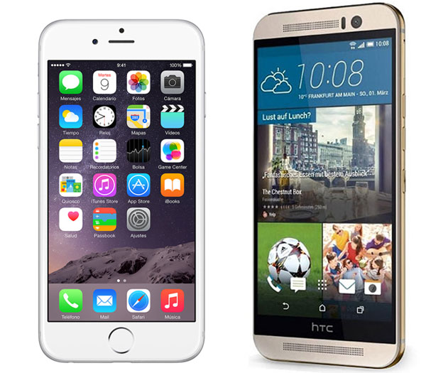 iPhone 6 vs HTC® One M9