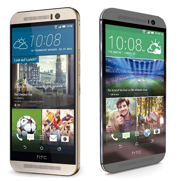 Comparativa HTC One M8s vs HTC One M9