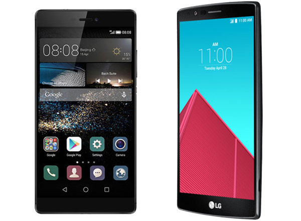 Comparativa Huawei P8 vs LG G4