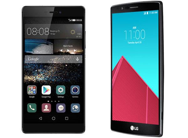 Huawei P8 vs LG® G4