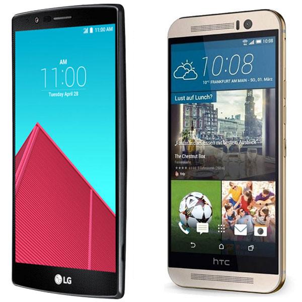 Comparativa LG G4 vs HTC One M9