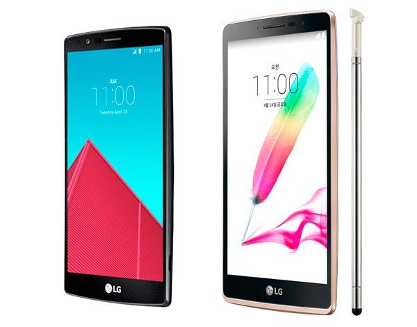 Comparativa LG G4 vs LG G4 Stylus