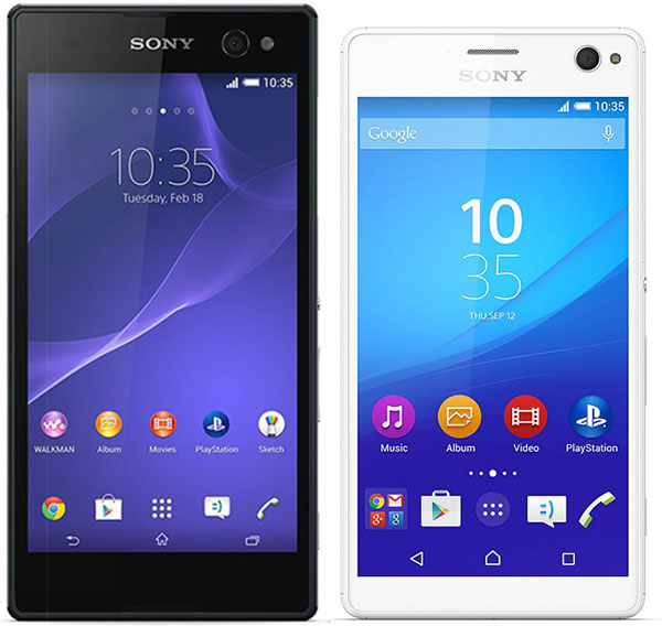 Sony Xperia™ C3 vs Sony® Xperia™ C4
