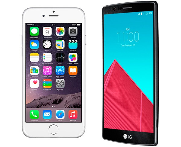 iPhone 6 vs LG® G4
