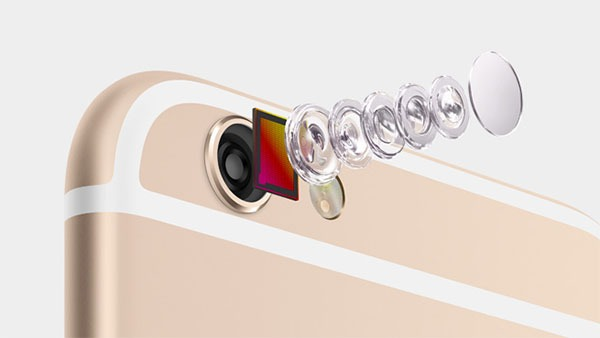 El iPhone 6S tendría una cámara Sony RGBW de 12 megapíxeles