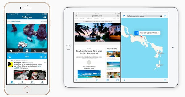 iOS 9(nueve) ReachApp