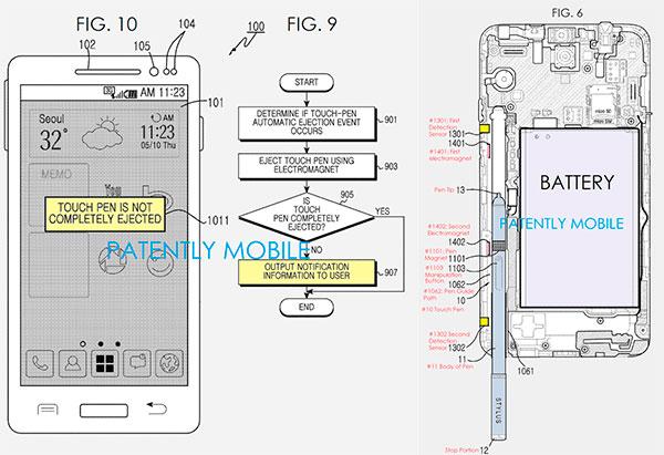 Samsung lapiz autoextraible