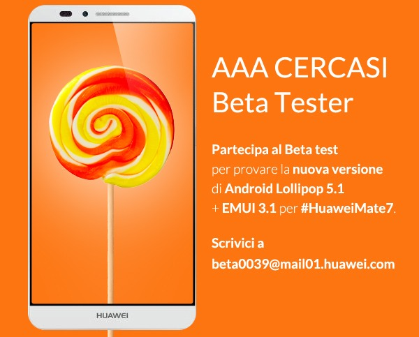 Android 5.1 Lollipop para el Huawei Ascend Mate 7