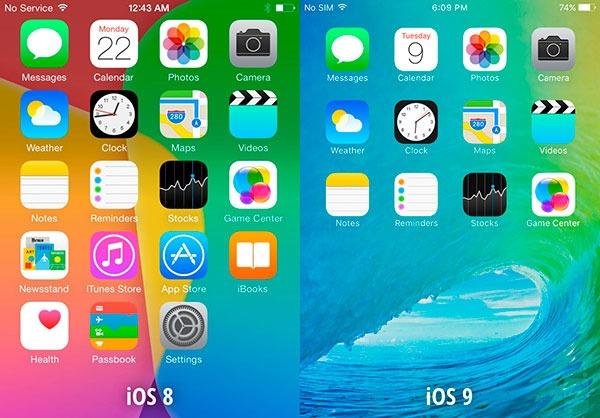 iOS 9 fuente