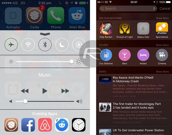 iOS 9(nueve) RelevApps