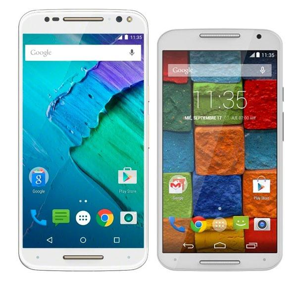 Comparativa Motorola Moto X Style vs Motorola Moto X 2014