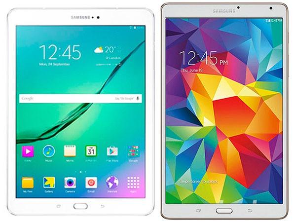 Comparativa Samsung Galaxy Tab S2 8.0 vs Samsung Galaxy Tab S 8.4
