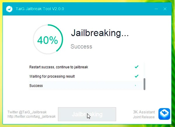 Jailbreak error 40%