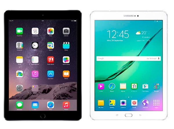 Comparativa iPad Air 2 vs Samsung Galaxy Tab S2 9.7