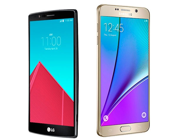 LG G4 vs Samsung® Galaxy™ Note 5