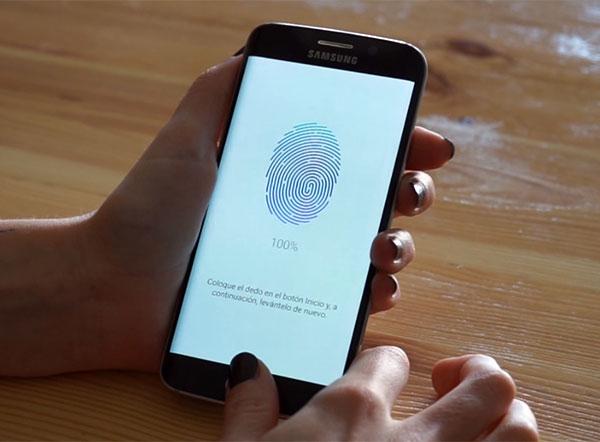 Samsung Galaxy S6 edge huella
