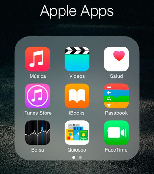 Apple se plantea permitir eliminar algunas aplicaciones nativas