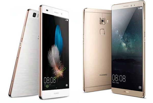 Huawei P8 vs Huawei® Mate S