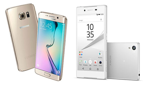 Comparativa Samsung Galaxy S6 Edge vs Sony Xperia Z5