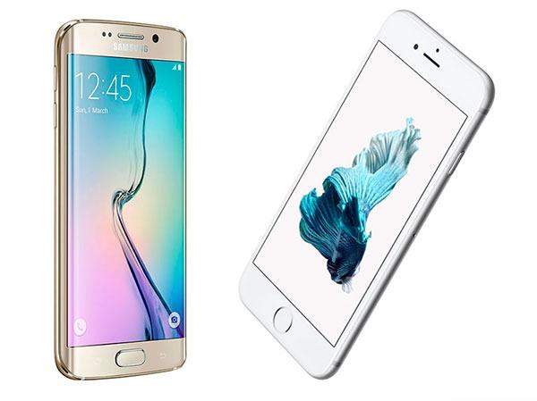 Comparativa Samsung Galaxy S6 Edge vs iPhone 6S