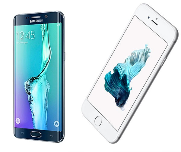 Samsung Galaxy S6 edge + vs <stro />iPhone</strong>® 6S Plus&#8221; width=&#8221;600&#8243; height=&#8221;505&#8243; /></h3> <p>Uno es de <strong><a target=