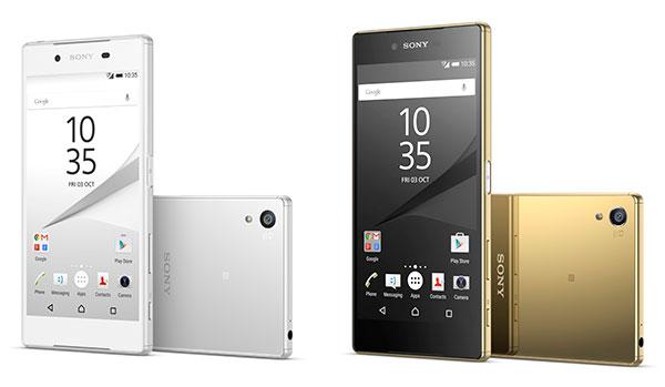 Sony Xperia® Z5 y Z5 Premium