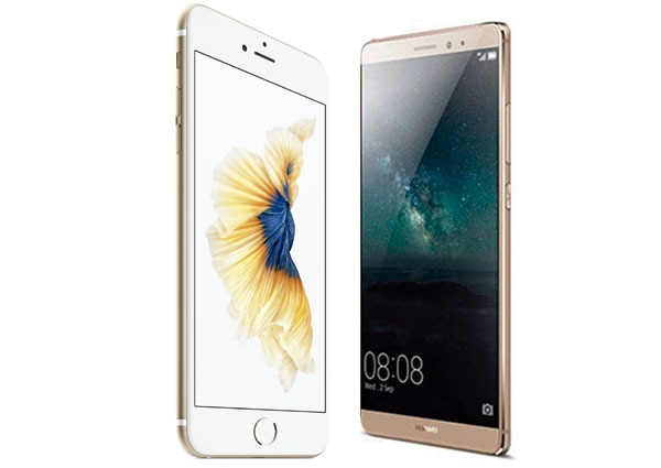 iPhone 6s Plus vs Huawei® Mate S