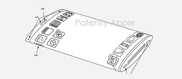patente <stro />iPhone</strong>® pantalla curva&#8221; width=&#8221;600&#8243; height=&#8221;262&#8243; /></p> <p>El <strong>registro de patentes</strong> es un paso clave a la hora de construir nuevas tecnologías. Las empresas presentan sus invenciones al organismo competente para que quede plasmada la propiedad del sistema o equipo que describe. El blogger <em>Patently Cupertino (<strong>Apple</strong>) </em>se dedica a recolectar datos acerca de las patentes enseñadas por la marca de la manzana, que no son pocas, y ya cuenta con una buena colección de ideas que podrían terminar haciéndose realidad en un futuro. Que una patente haya quedado registrada no representa que vaya a llevarse a la práctica, no obstante en muchos casos sí que dan frutos y son una buena fuente de info(datos). para saber lo que se cuece entre bambalinas. La ultima patente que ha obtenido <strong><a target=