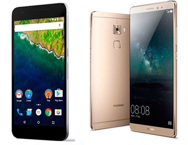 Huawei Mate S vs Nexus™ 6P