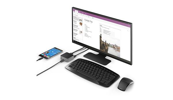 Microsoft Continuum convierte un smartphone Lumia en un ordenador