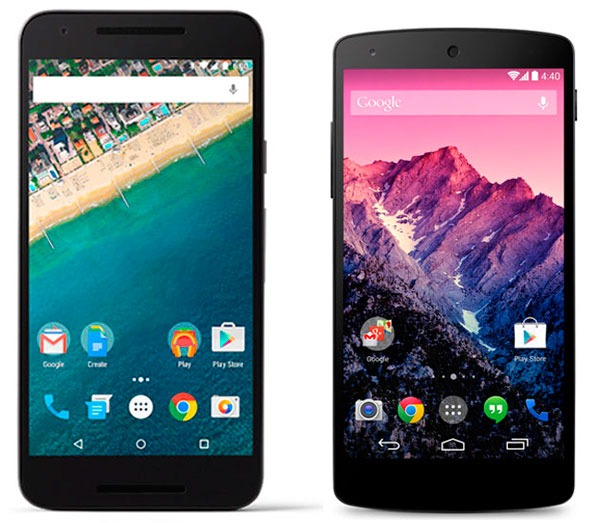 Nexus 5X vs Nexus™ 5