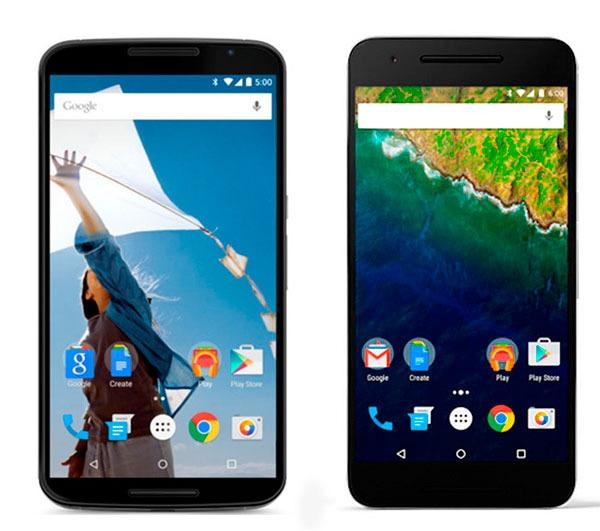 Nexus 6(seis) vs Nexus 6P